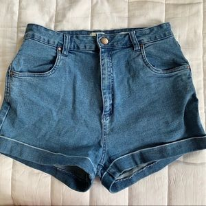 Cotton on women's size 10 high waisted short